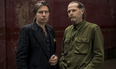 Del Amitri Justin Currie Iain Harvie credit Andrew Ogilvy