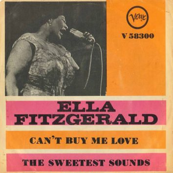 Ella Fitzgerald Cant Buy Me Love
