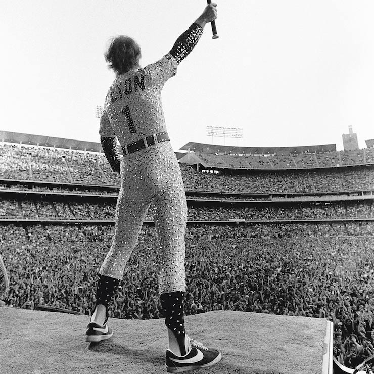 Elton John - Terry O'Neill - Dodger Stadium
