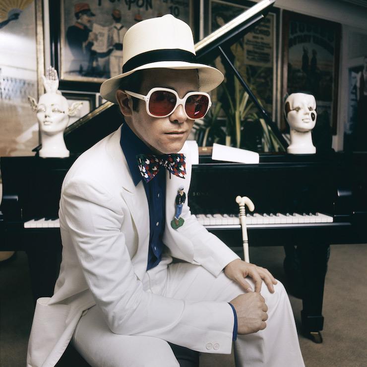 Elton John - Terry O'Neill Photo
