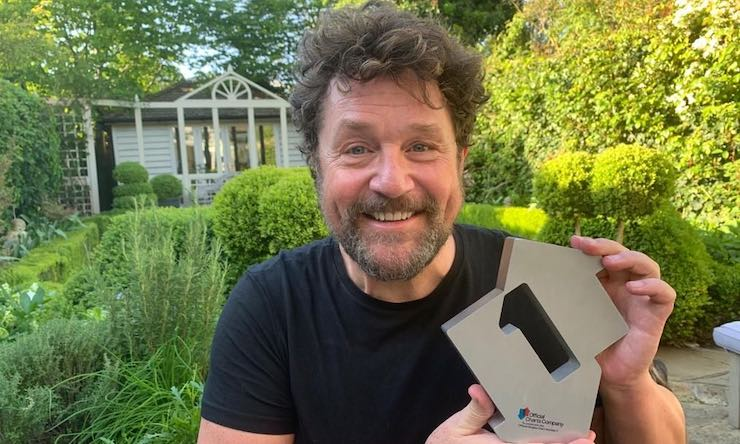 Michael Ball photo courtesy Official Charts Company