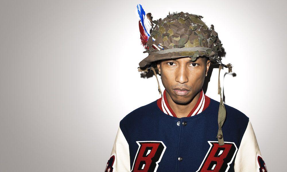 Pharrell Williams Press Photo