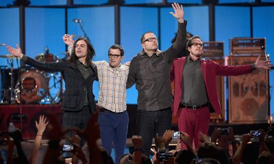 Weezer photo Ethan Miller and Getty Images for iHeartMedia