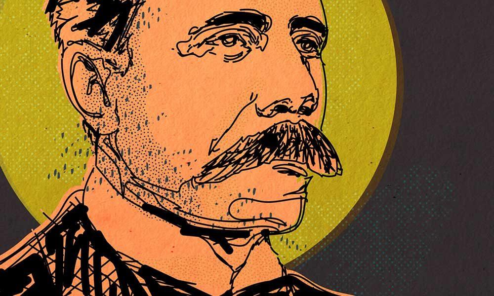 Edward Elgar portrait