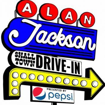 Alan Jackson Drive-In Logo