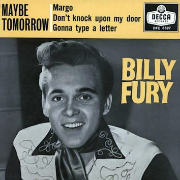 Billy Fury Maybe Tomorrow Margo