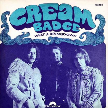 Cream Badge single