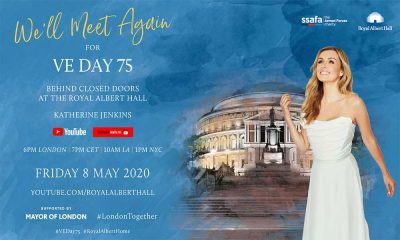 Katherine Jenkins Royal Albert Hall Ve Day image