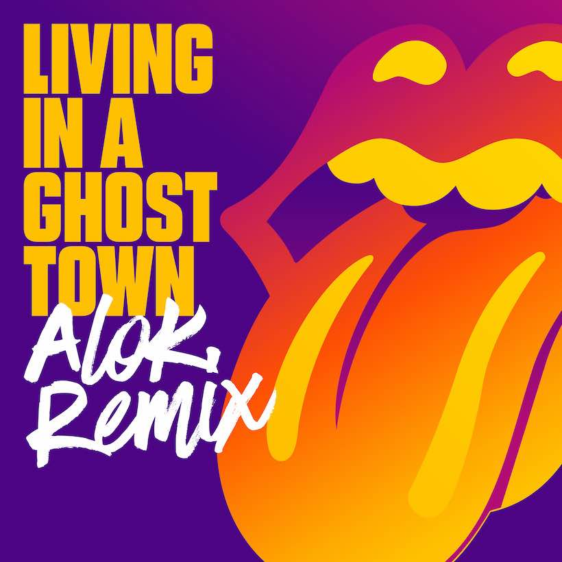 Rolling Stones Living In A Ghost Town remix