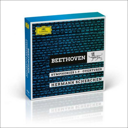 Hermann Scherchen Beethoven Symphonies box set cover