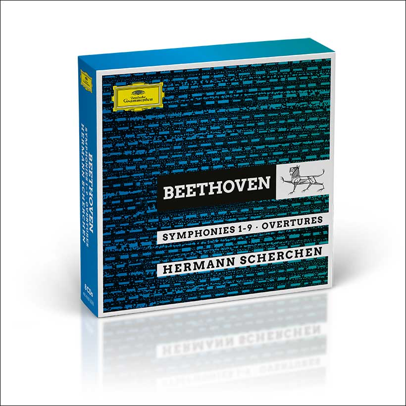 Hermann Scherchen Beethoven Symphonies box set cover