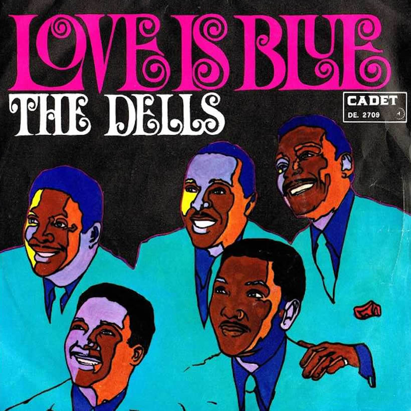 Dells I Can Sing A Rainbow Love Is Blue single