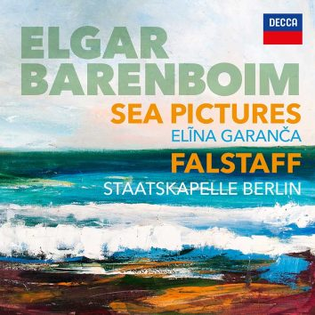 Daniel Barenboim Sea Pictures cover