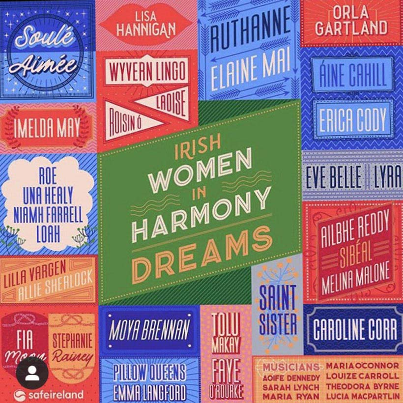 Irish-Women-In-Harmony-The-Cranberries-Dreams