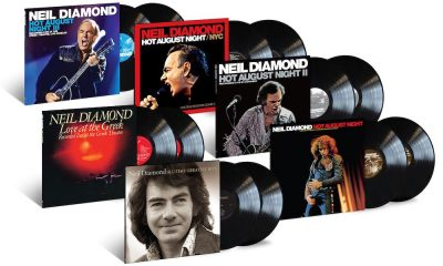 Neil Diamond Hot August Night packshot
