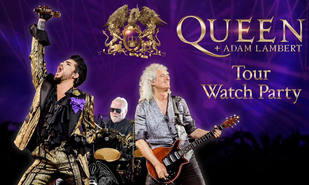 Queen + Adam Lambert Announce YouTube Tour Watch Party