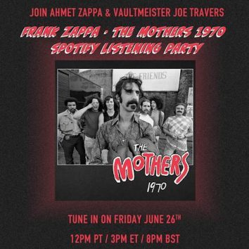 Frank Zappa Listening Party