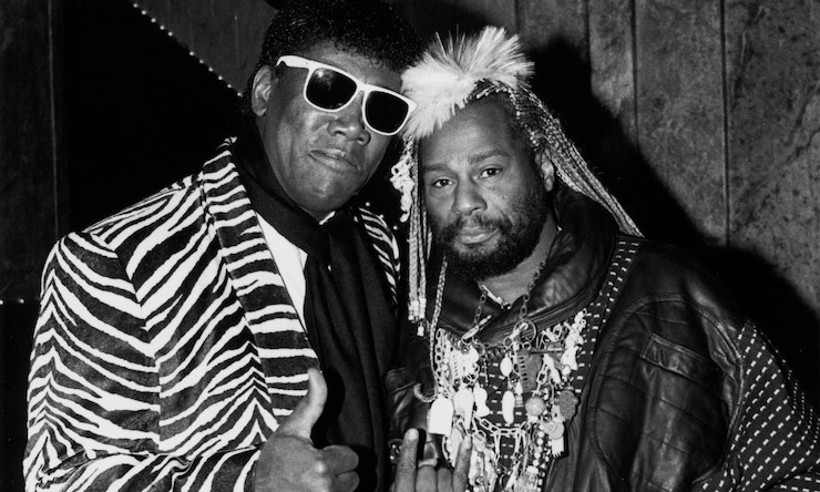 Clarence-Clemons-and-George-Clinton---GettyImages-117075590