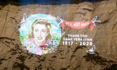 Dame Vera Lynn White Cliffs tribute