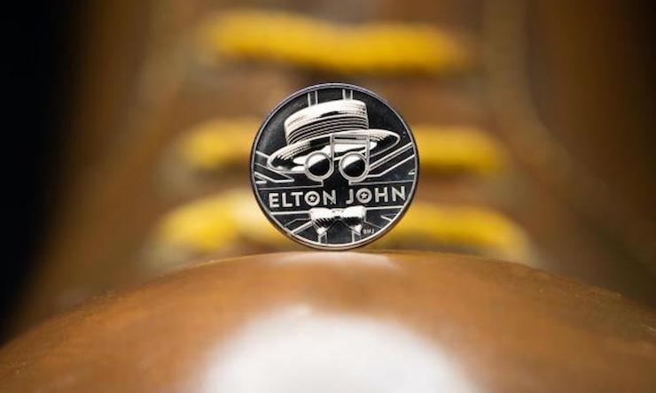 Elton John coin Royal Mint