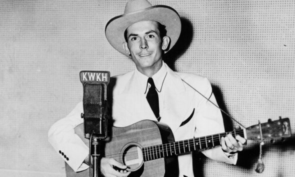 Hank Williams Playing Guitar