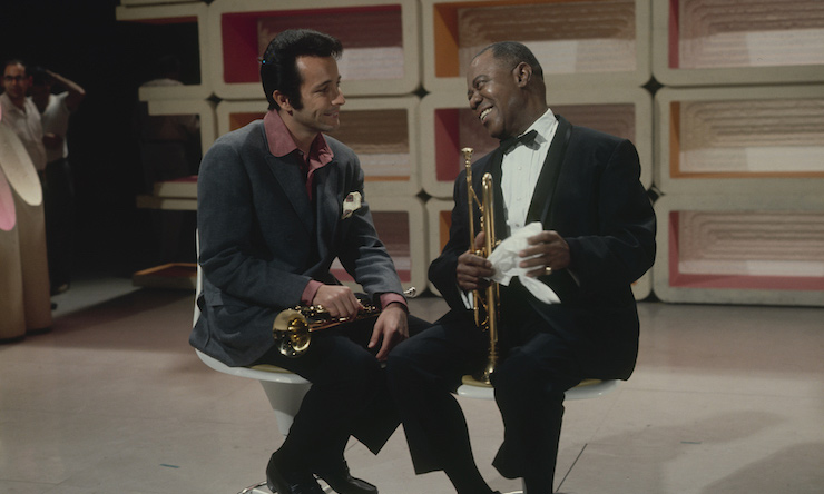 Herb-Alpert-and-Louis-Armstrong---GettyImages-97945356