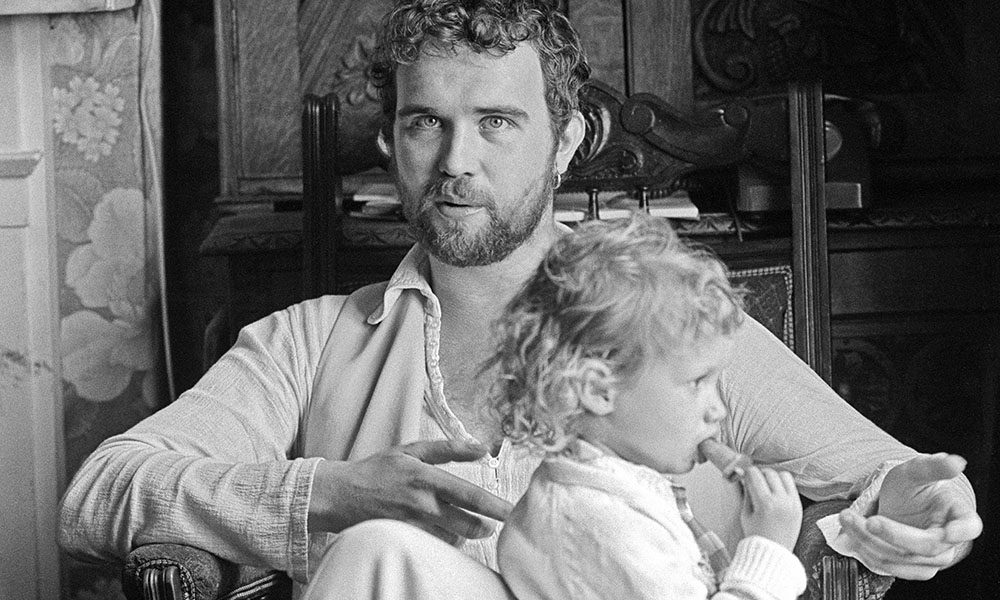 John Martyn with child