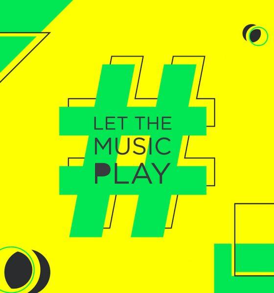 #LetTheMusicPlay logo