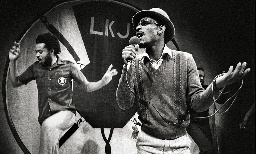 Linton Kwesi Johnson Performing