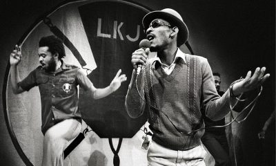 Linton Kwesi Johnson Performing