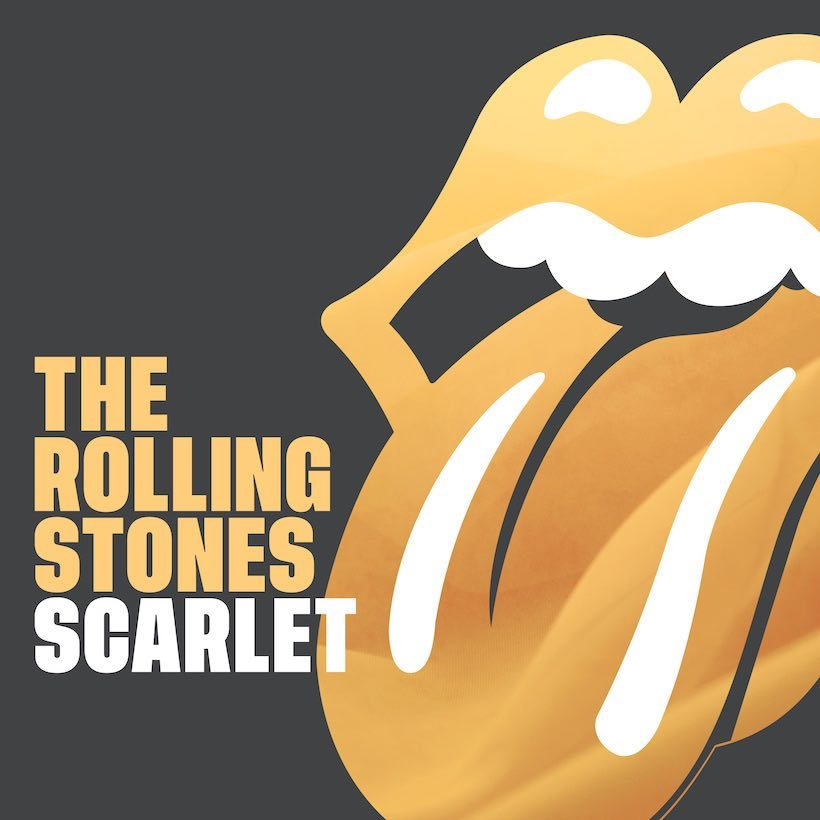 Rolling Stones Scarlet art