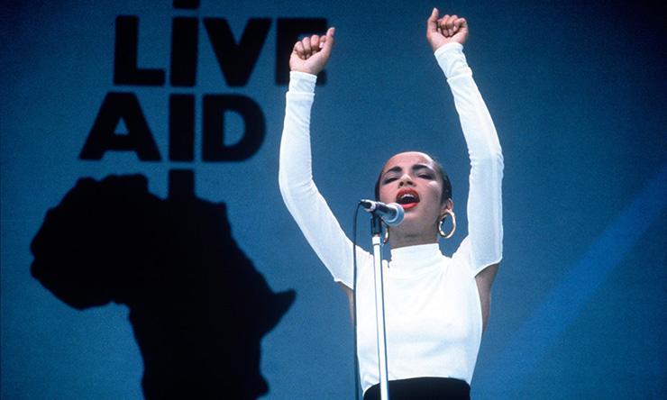 Sade at Live Aid