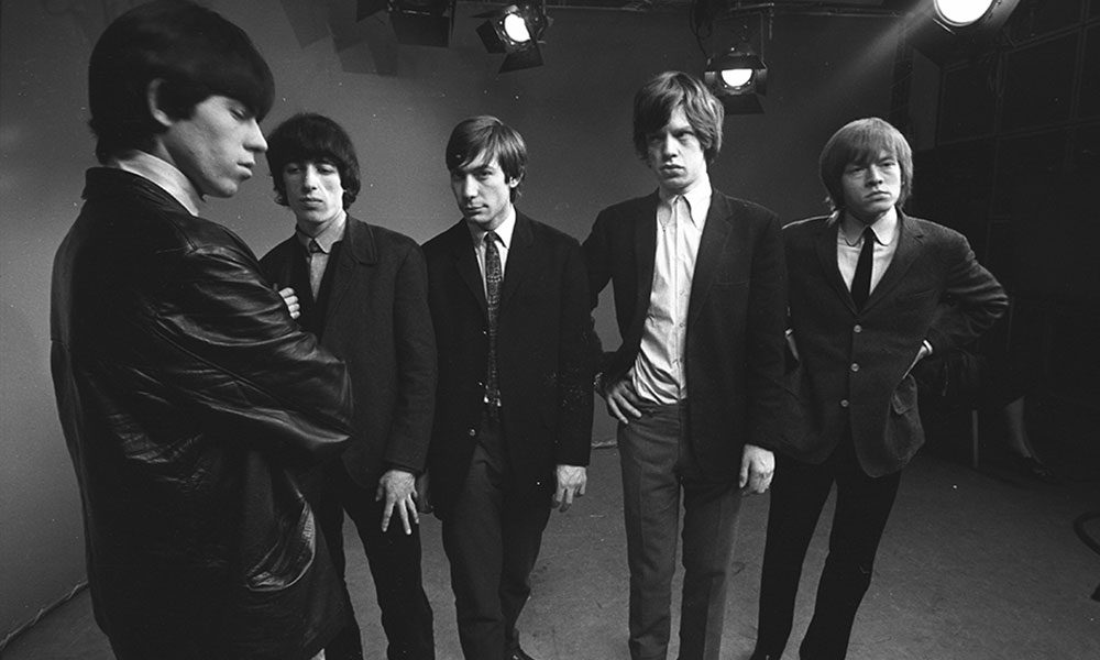 The Rolling Stones photo by John Hoppy Hopkins and Redferns