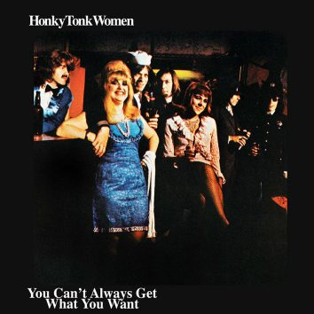The Rolling Stones - Honky Tonk Women Single Cover