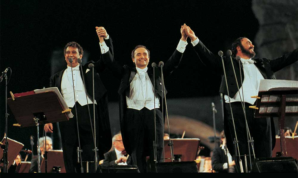 'The Three Tenors - 30th Anniversary Edition' Celebrating Iconic Concert Announced |
