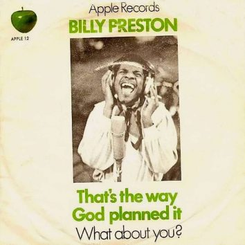 Billy Preston Thats The Way God Planned It