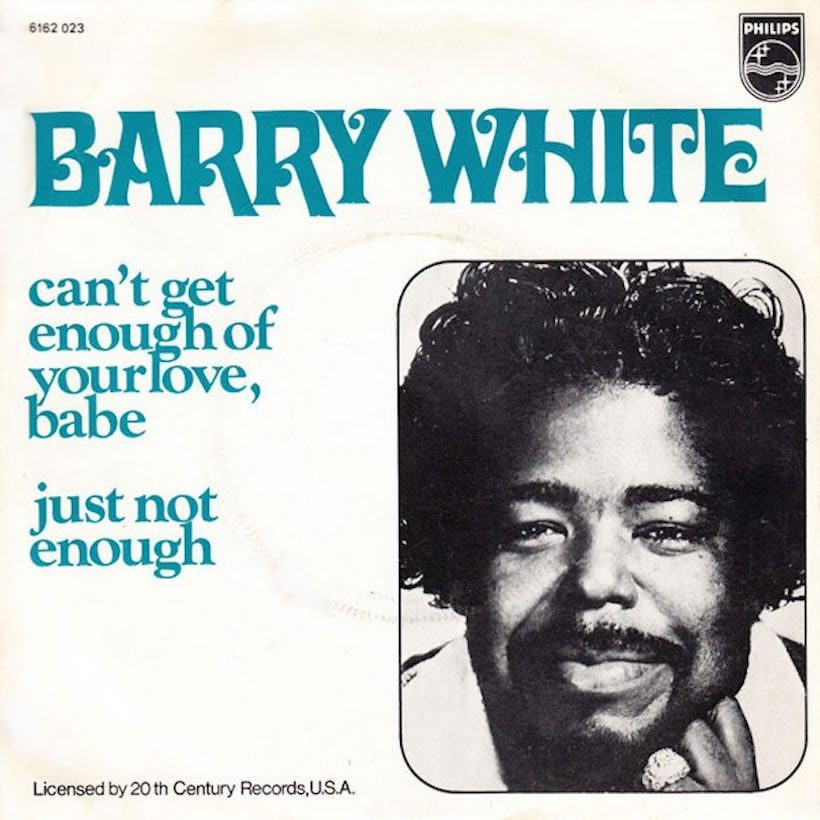 Cant Get Enough of Your Love Babe Barry White