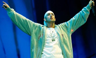 Eminem photo by Brian Rasic and Getty Images