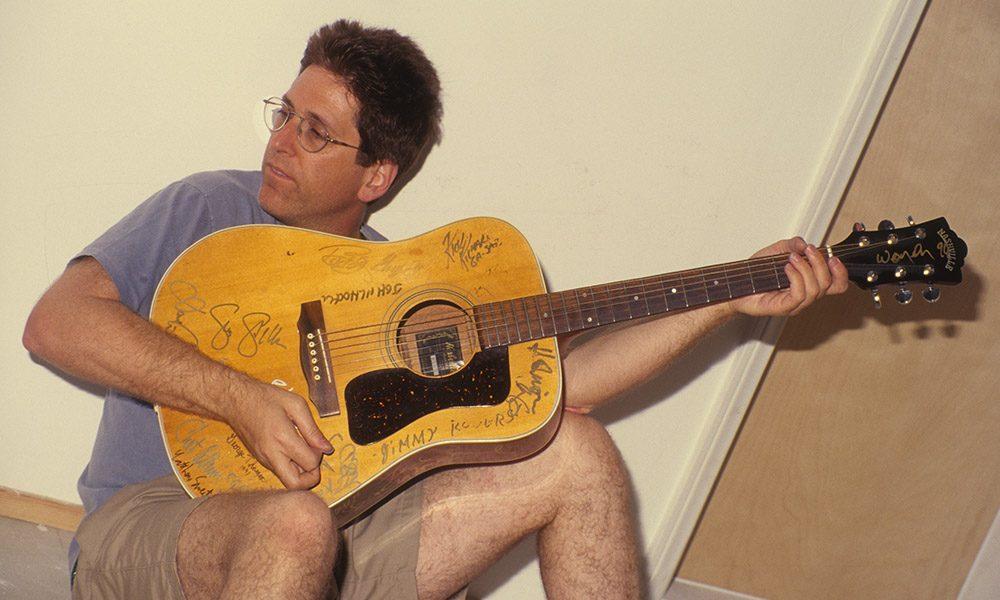 Jack Sherman With Guitar
