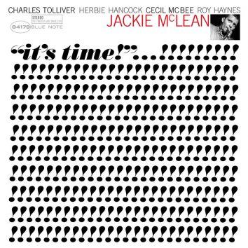 Jackie McLean It's Time Cover