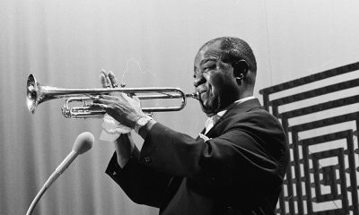 Louis Armstrong, artist known for What a Wonderful World, Playing Trumpet