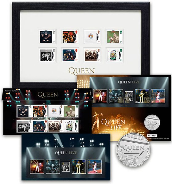 Queen Royal Mail Stamp Collection