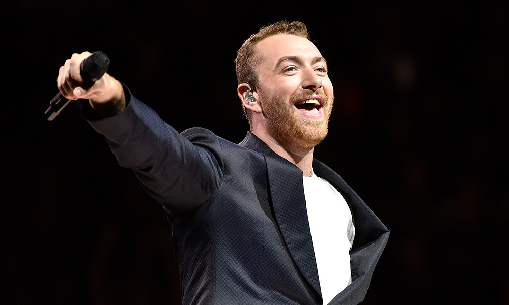 Sam Smith photo by Tim Mosenfelder and Getty Images
