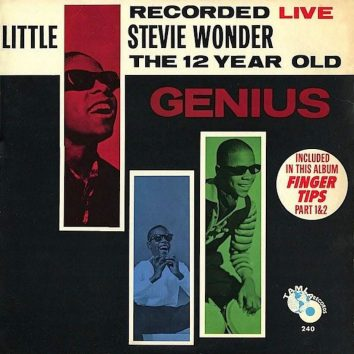 Stevie Wonder 12 Year Old Genius