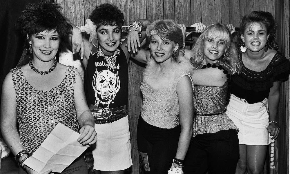 The-Go-Gos---Charlotte-Caffey---1981-Rockford-Illinois-Stones-tour-backstage-by-PAUL-NATKIN