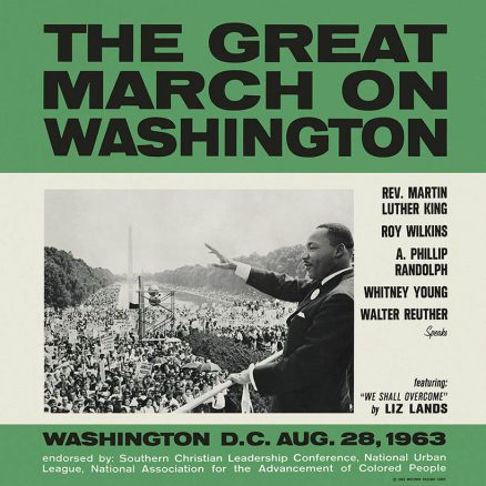 The Great March on Washington Album Cover