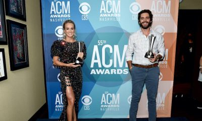 Carrie Underwood Thomas Rhett ACM Awards GettyImages 1272915181