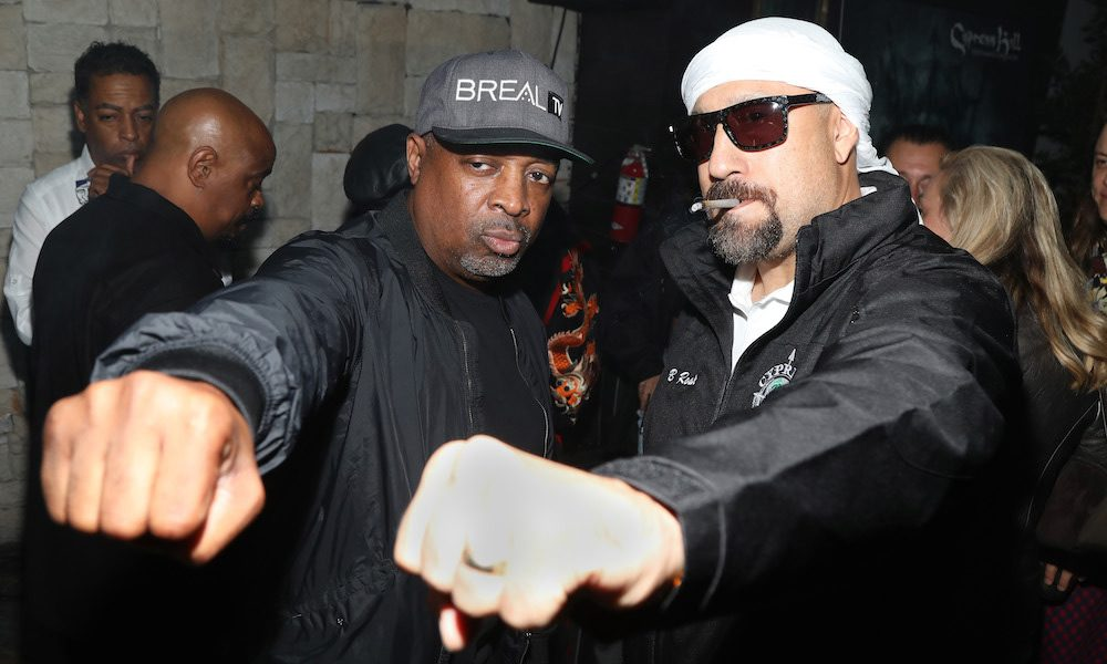 Chuck D and B Real Cypress Hill