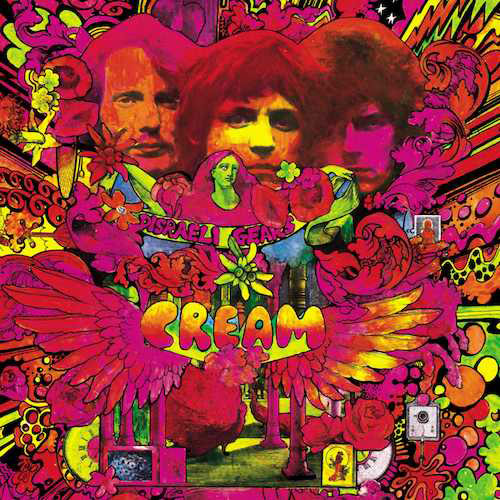 Cream Disraeli Gears cover