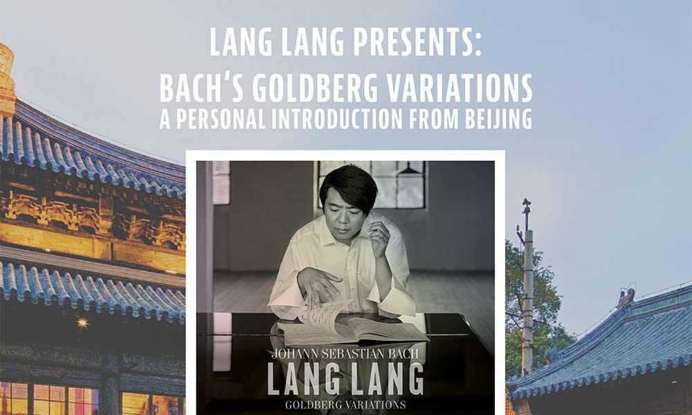 Lang Lang Goldberg Variations Beijing